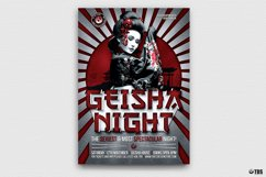 Geisha Party Flyer Bundle V2 Product Image 4