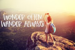 Lovely Adventures - A Quirky Hand-Written Font Product Image 7