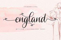 England // Stylish Calligraphy Font Product Image 1