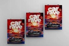 Car Rave A4 Flyer PSD Template Product Image 3