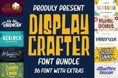 DISPLAY CRAFTER Font Bundles Product Image 1