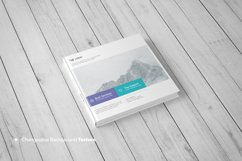 Square Book Mock-Up / Hardcover Product Image 5