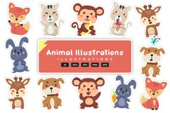 Animal Illustrations Product Image 1