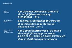 Blue Lagoon font Product Image 6