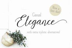 Casual Elegance Font duo extra ligatures & alternatives Product Image 1