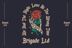 Dutch Brigade - Modern Blackletter Typeface Product Image 2
