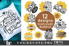 Sunflower SVG Bundle  Sunflower Bundle SVG   Sunflower svg Product Image 3