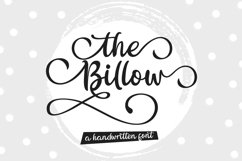 The Billow | A handwritten sweet font Product Image 1