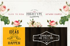 Mightype Handlettering Font Pack Product Image 5
