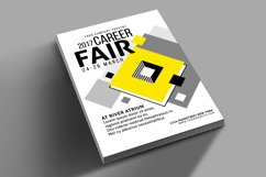 Career Fair Flyer Poster Product Image 4