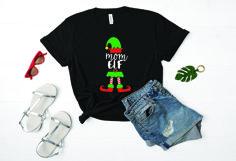 Mom elf SVG Christmas SVG Christmas, 51P Product Image 2