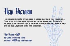 New Victoria - Modern Blackletter Font // Web Font Product Image 4