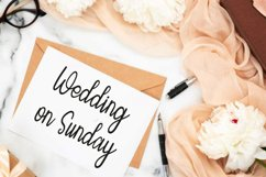 Sunday of Beauty | Handwritten Font Product Image 3
