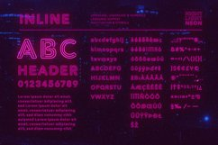 Night Light Neon Font - Inline Product Image 4