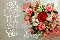 Wedding Ornaments - A Fun Flourish Font Product Image 3