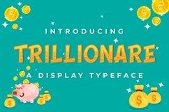 Web Font Trillionaire Product Image 1