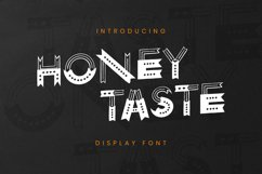 Honey Taste Font Product Image 1