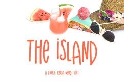 The Island Sans Font Product Image 1