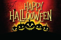 Mitoos Halloween typeface with extras Product Image 5