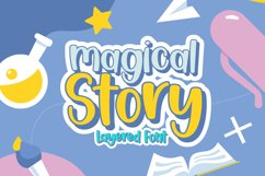 Magical Story - Handwritten Fonts Product Image 1