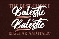 Balestic - Premium Brush Font Product Image 3