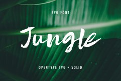 Jungle SVG and Solid Product Image 1