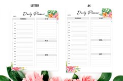 Floral Daily Planner Printable Product Image 3