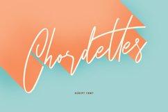 Chordettes Signature Script Brush Handmade Font Product Image 1