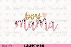 Sublimation Boy Mama mom leopard boho Product Image 1