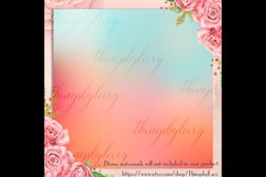 16 Rainbow Gradient Texture Digital Papers, Fairy Tale Paper Product Image 4