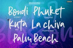 Star Blossom - A Modern Script Font. Product Image 5