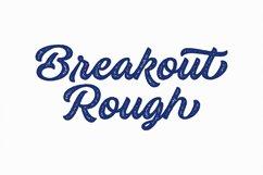 Breakout Script Font Product Image 3