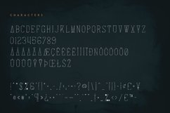 Arowen - Textured Rough Fonts Product Image 3