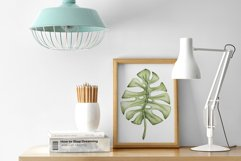 """Watercolor ClipArt """"Tropical Leaves"""" Product Image 5"""