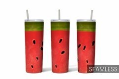 Watermelon Tumbler Sublimation | 20 oz | Taper | Straight Product Image 1