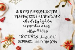 Pretty Christmas - Cute Typeface Font Product Image 3