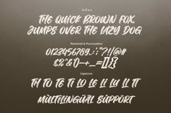 The Deliver - Urban Brush Font Product Image 5