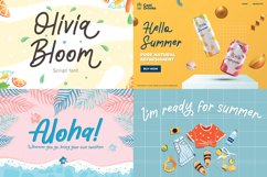 The Summer Vibes Collection Font Bundles Product Image 3