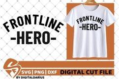 Frontline Herosvg, Stethoscope svg, Nurse svg, Medical svg Product Image 2