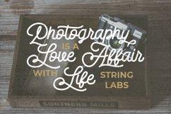 Dattge Hurty - Monoline Retro Font Product Image 2