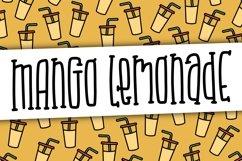 Mango Lemonade a Hand Lettered Font Product Image 1