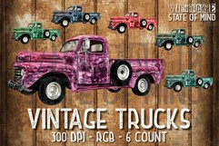 Antique Truck Sublimation Graphics Product Image 1