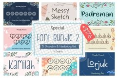 Special Font Bundle 2 Product Image 1