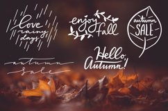 Lettering Pack about Autumn Product Image 2