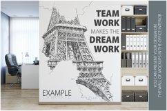 OFFICE Wall Mockup Bundle Product Image 6