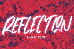 Reflection - Handbrushed Font Product Image 1