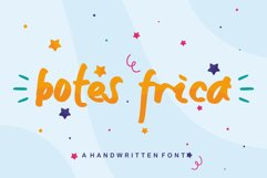 Botes Frica - A handwritten Font Product Image 1