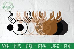 3D Santa Cam Ornament SVG, Christmas Camera Bundle, Elf DXF Product Image 2