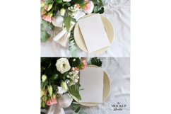 Card Mockup, Wedding Invitation Mockup, Stationary Mockup Product Image 4