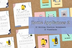 Home Appliances 2 Educational Writing Practice Worksheet Product Image 1